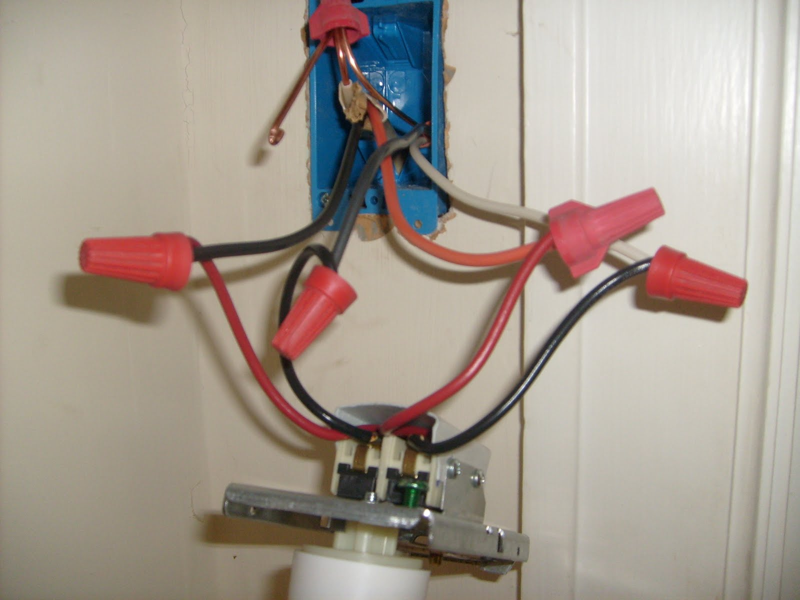 medium resolution of thermostat wiring connections ground wire left off for clarity