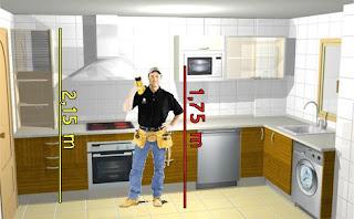 Formas almacen de cocinas medidas i medidas est ndar de for Modulos de cocina medidas y precios