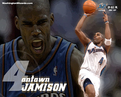Antawn Jamison Washington Wizards Wallpaper