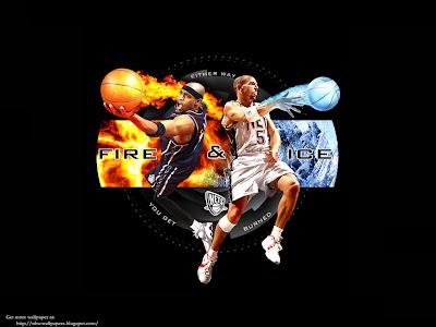 Nba basketball jason kidd fire and ice wallpaper jason kidd fire and ice wallpaper voltagebd Image collections