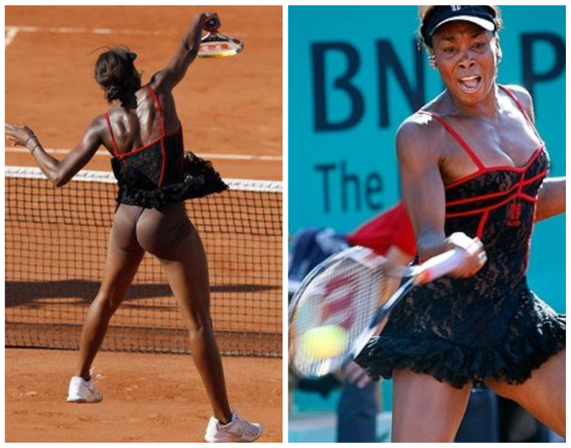 Venus Ta Takes Over Tennis Tournament Not The Best Look
