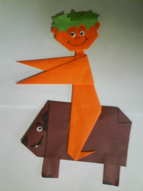 Resultado de imagem para ideias para folclore curupira educação infantil