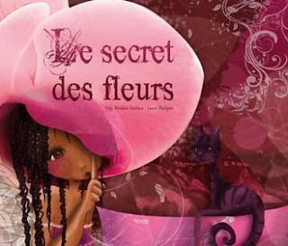 Illustration jeunesse : le secret des fleurs