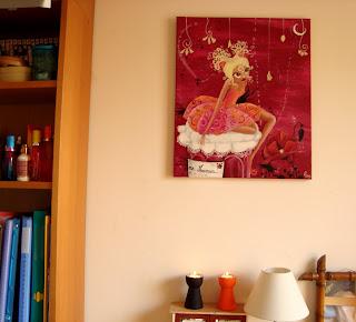 petite fée dans une chambre illustration illustratrice