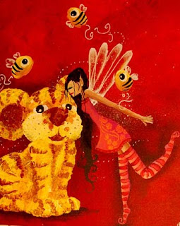 Une illustration pour une petite fée nommée Assia