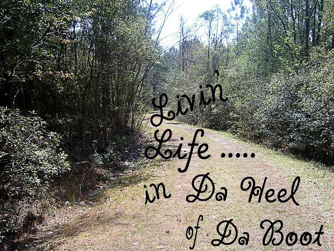 Livin' Life.....in Da Heel of Da Boot
