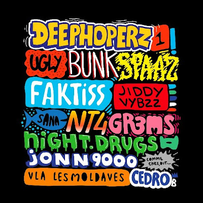 Bunk, Faktiss, Jiddy Vybzz et Spaaz feat Sana - Ugly