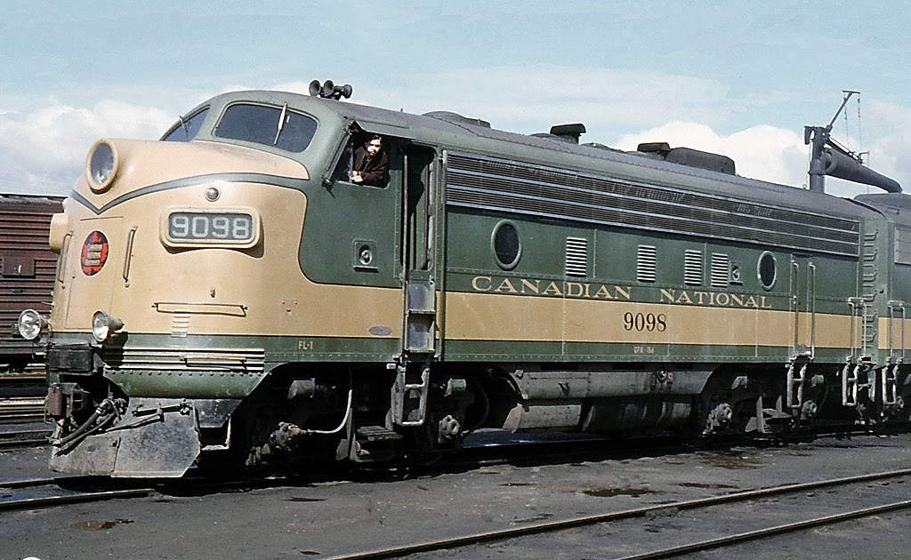 Cab London Ontario >> Oil-Electric: Canadian National Railways Livery