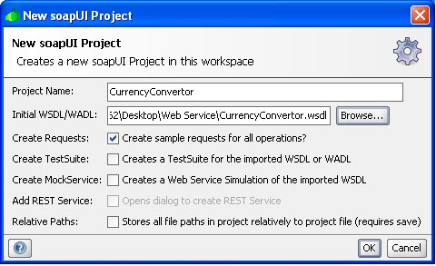 Siebel Mantra: How to test a WSDL if it is working or not?
