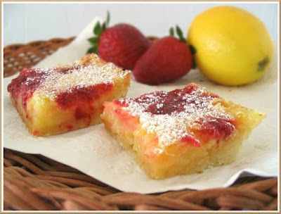 Nook & Pantry - A Food and Recipe Blog: Strawberry Lemon Bars