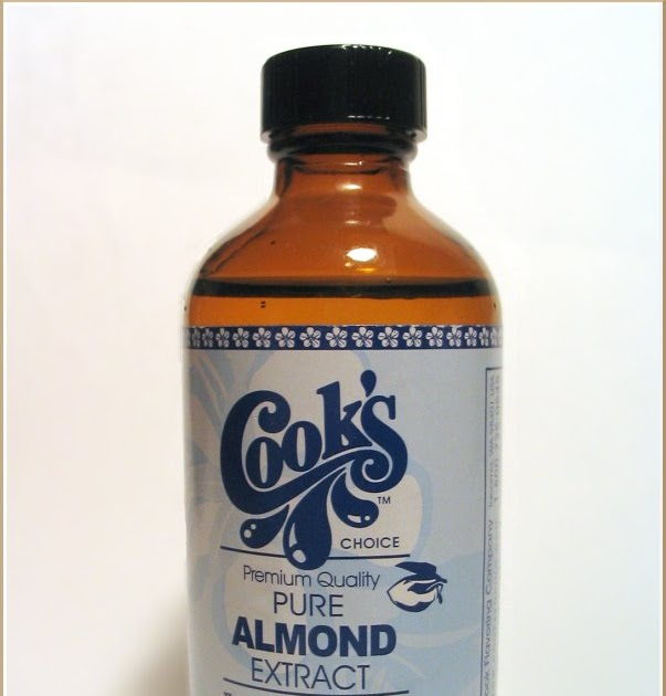 Almond extract alcohol