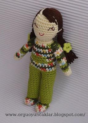 Amigurumi Şirin Yapılışı-Amigurumi Smurf Free Pattern - Tiny Mini ... | 400x286