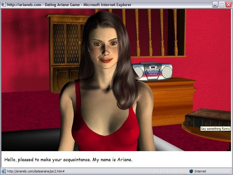 dating simulator ariane no censor free