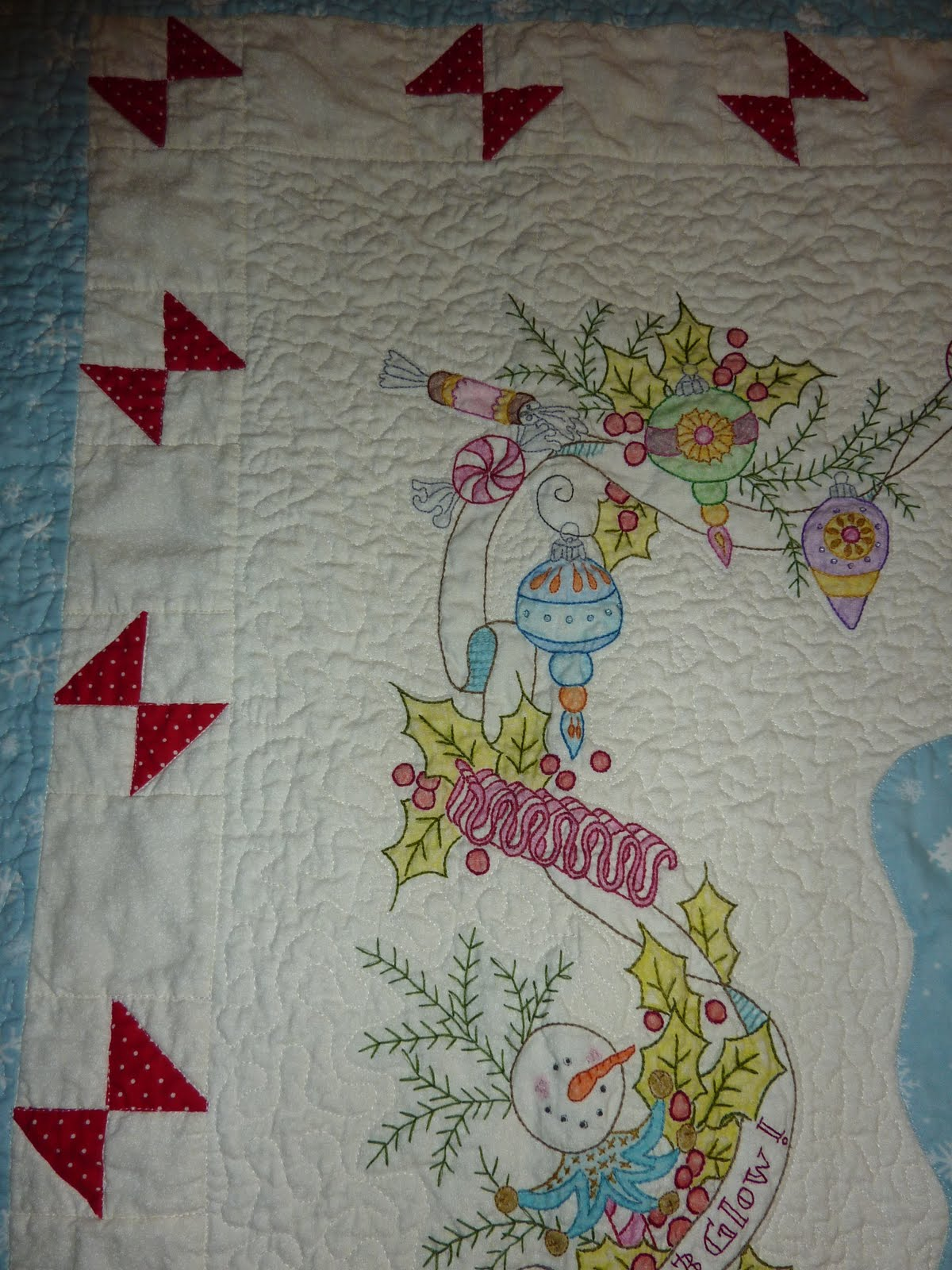 Crazy Mary S Place Quot Merry Little Christmas Quot Quilt Is