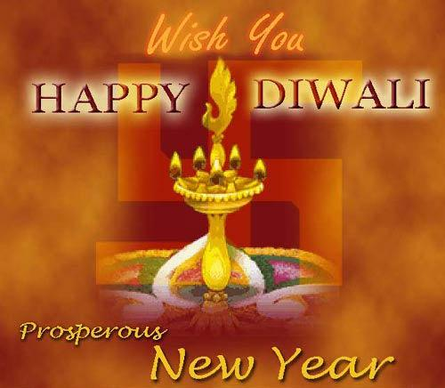 Happy New Year And Happy Diwali Images 25