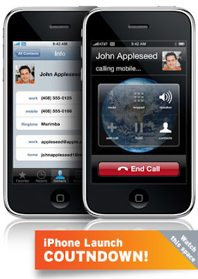 Launch of the iPhone 3G