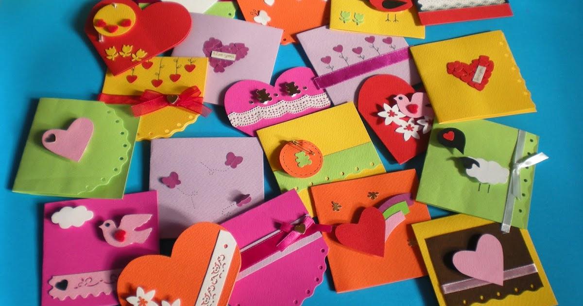 lovelyhandmade card mini love card