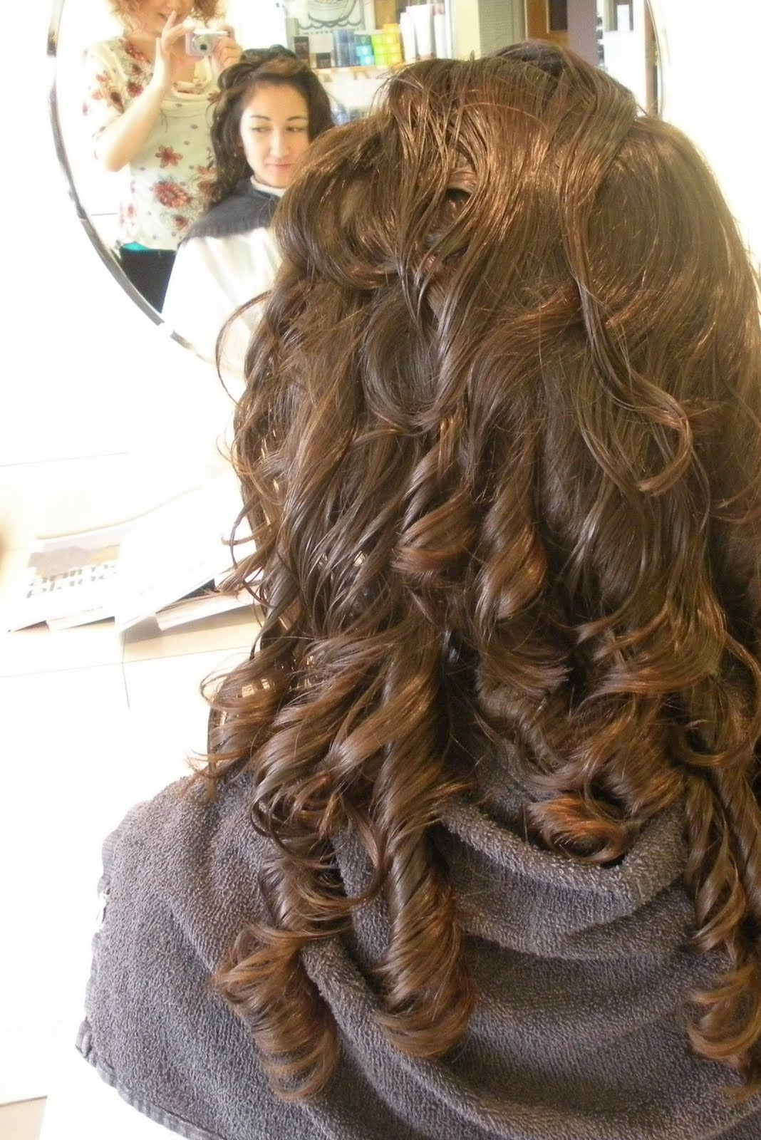 Loose Curl Perm Long Hair