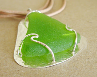 Sea glass annemade jewelry tis the season for sea glass i love looking for this stuff when im at the beach this piece was from a trip to barbados you can see it in the solutioingenieria Gallery