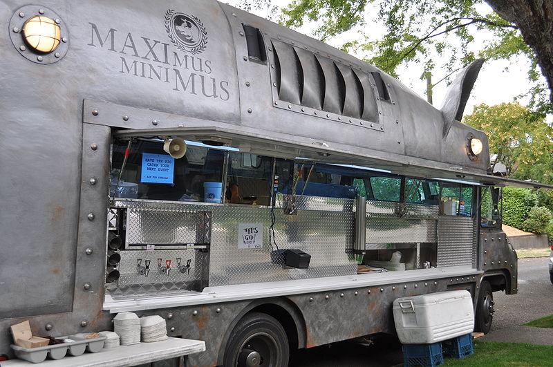 Swine Pig Food Truck