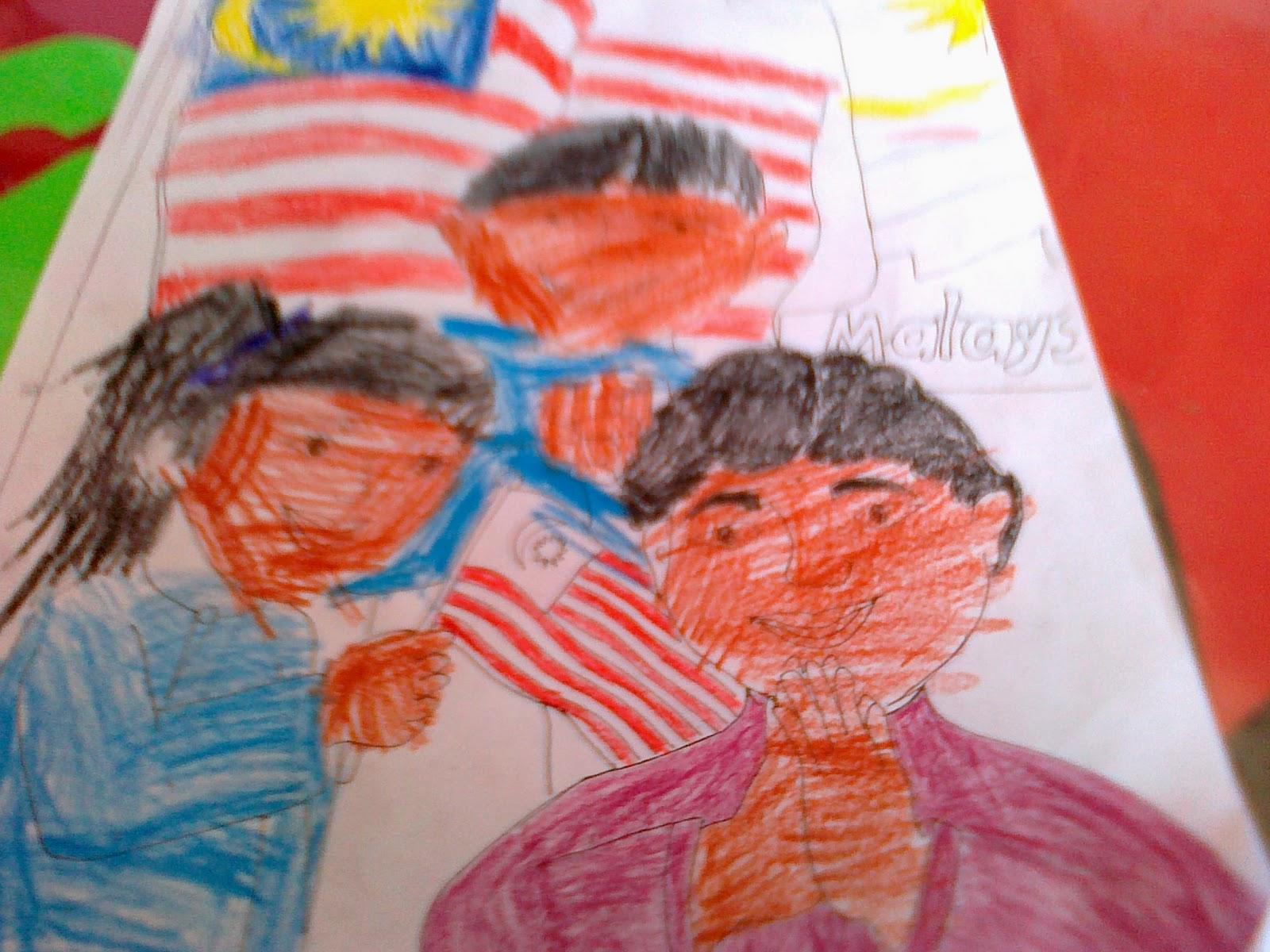Salmah binti Selamat: Pertandingan Mewarna Hari Merdeka 31 ...