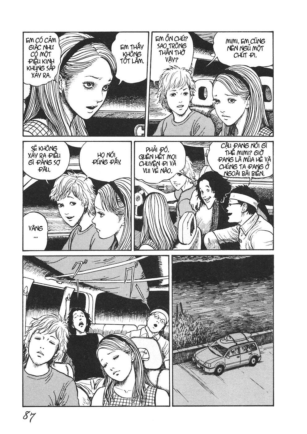 Mimi no Kaidan chap 4: bờ biển trang 4