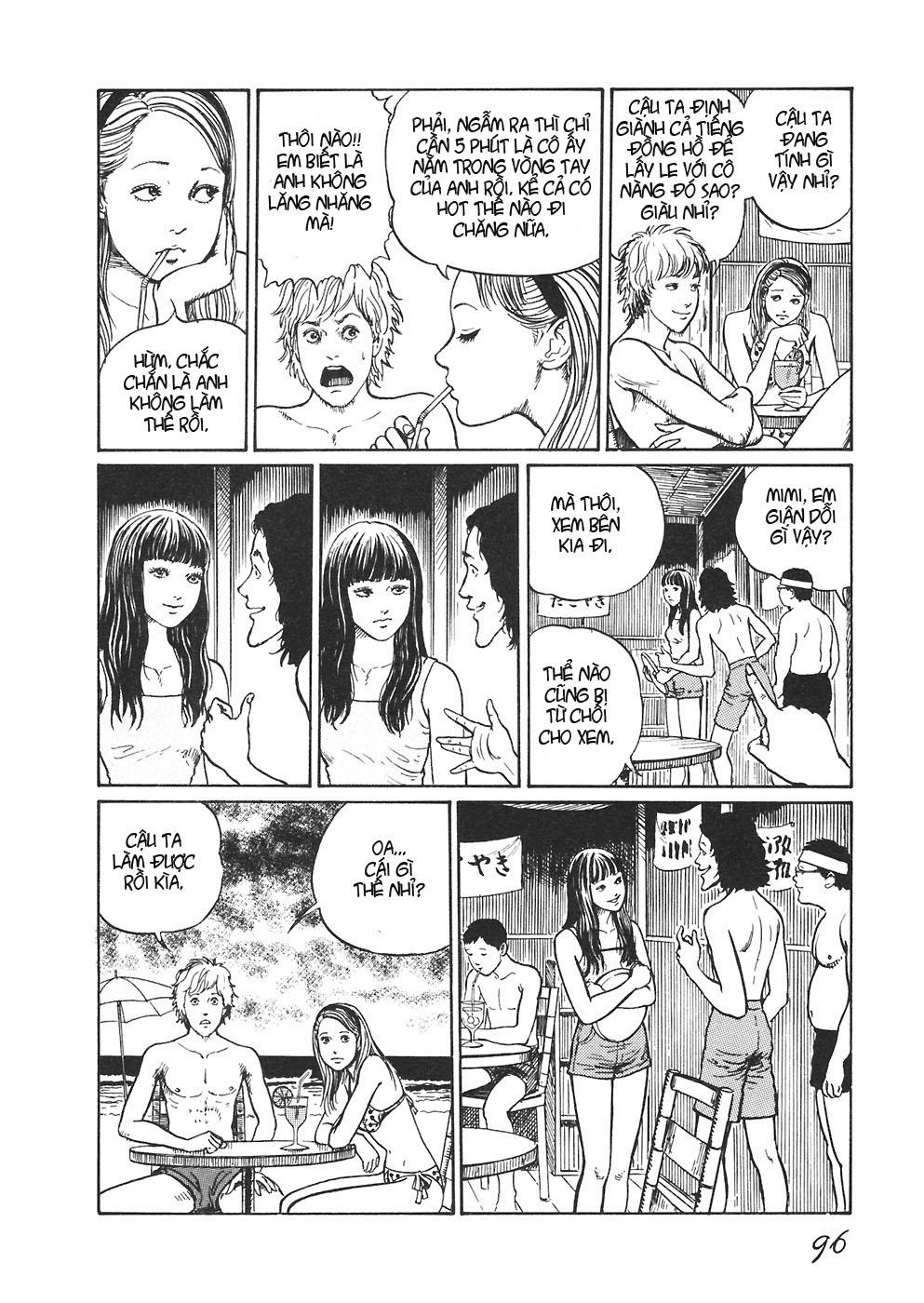 Mimi no Kaidan chap 4: bờ biển trang 13