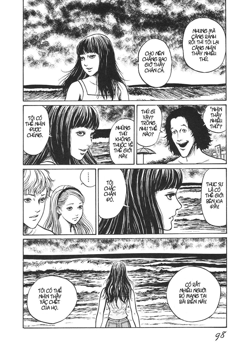 Mimi no Kaidan chap 4: bờ biển trang 15