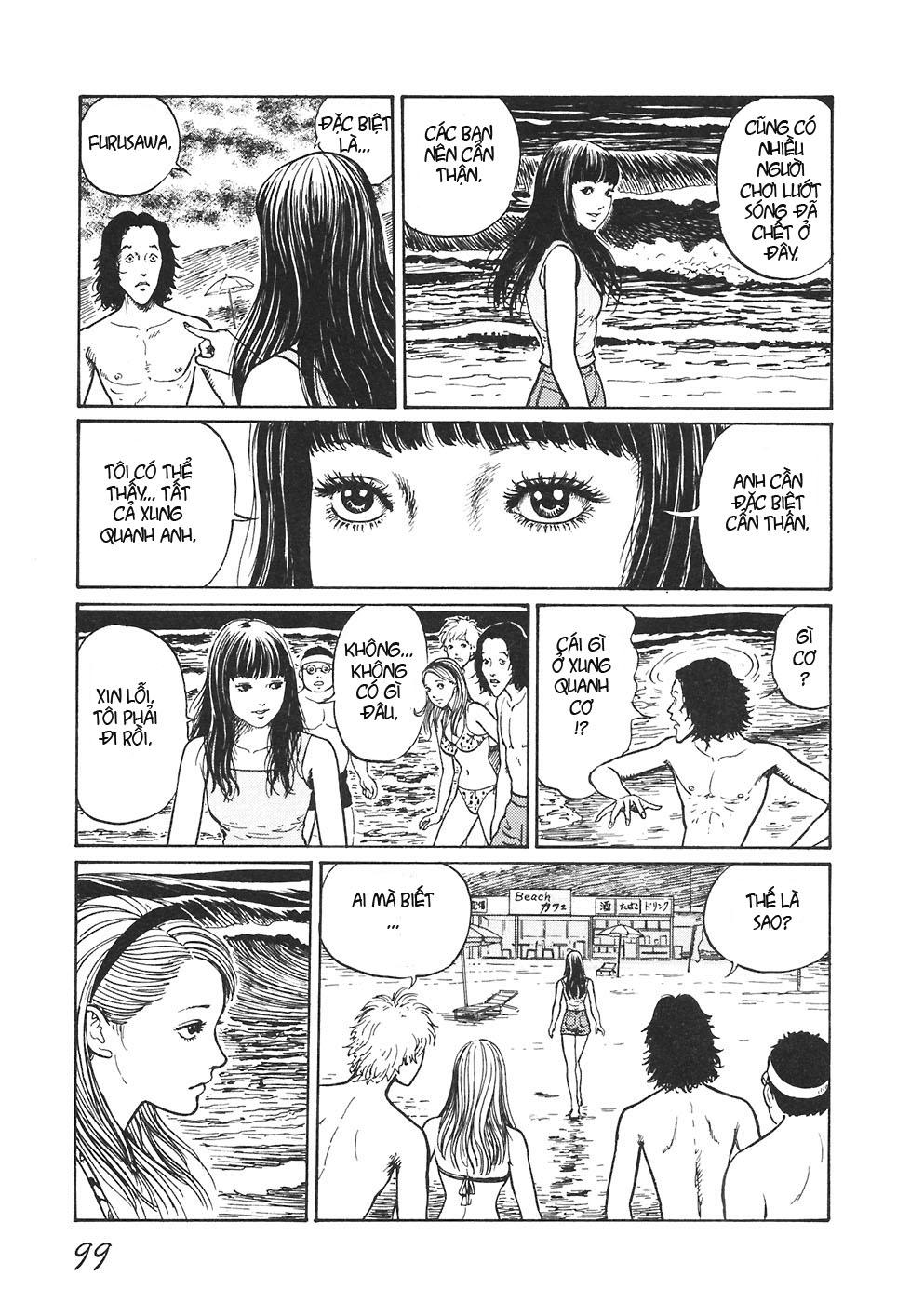 Mimi no Kaidan chap 4: bờ biển trang 16
