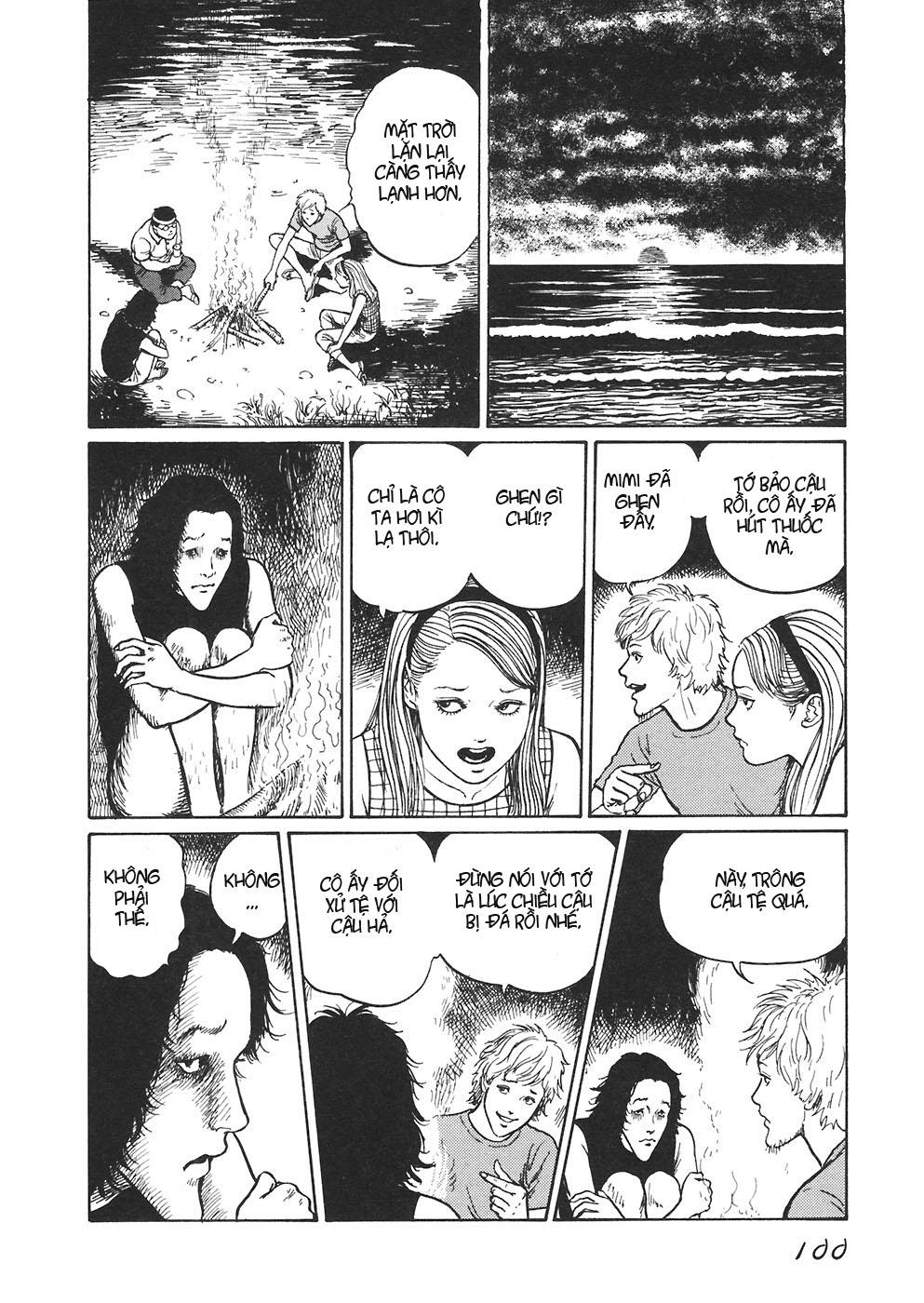 Mimi no Kaidan chap 4: bờ biển trang 17