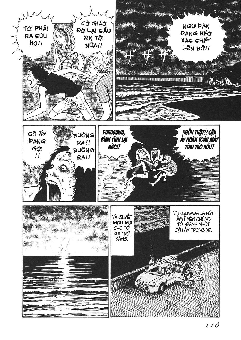 Mimi no Kaidan chap 4: bờ biển trang 26