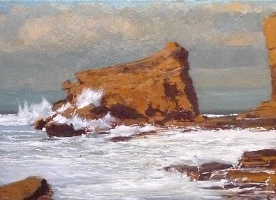 Atardecer en la playa de Langre, Cantabria