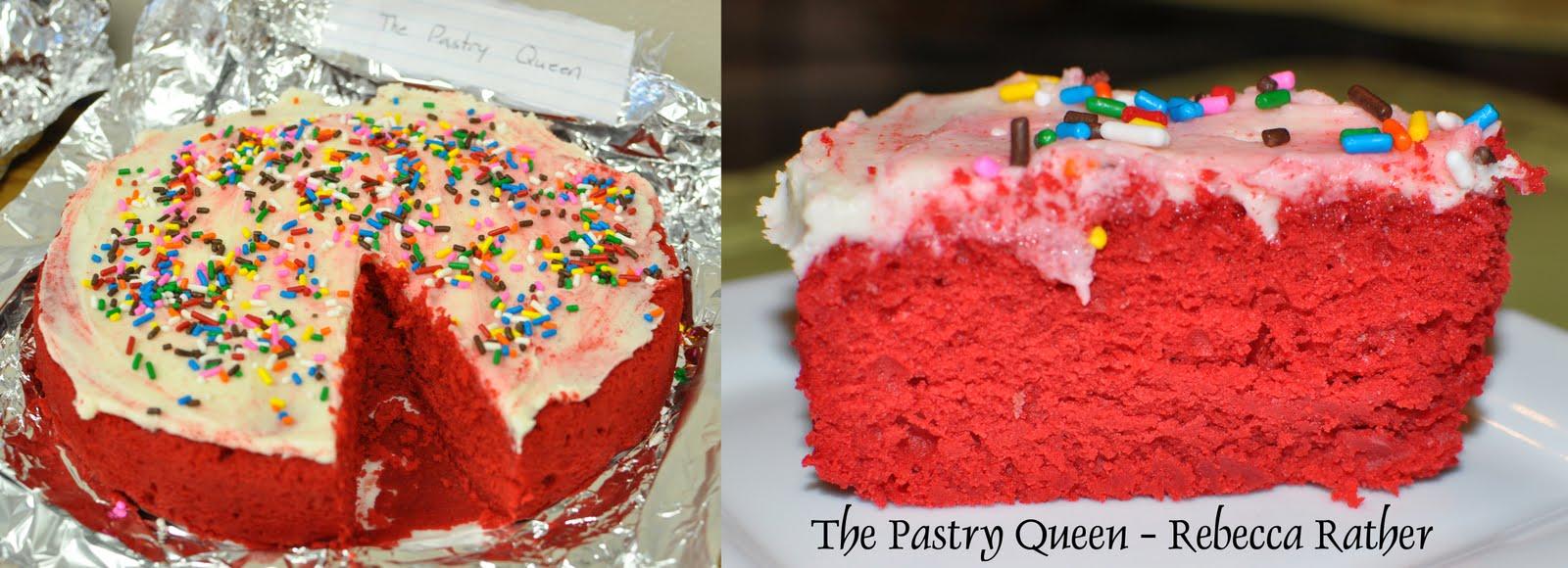 Red Velvet Cake Pastry Queen