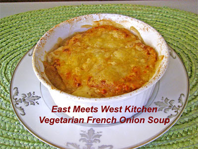 East Meets West Kitchen: A Woman's Tears and French Onion Soup