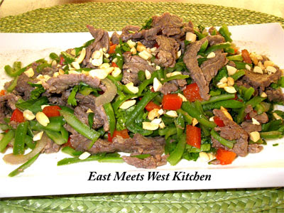 East Meets West Kitchen: Stir-fry Basil Beef
