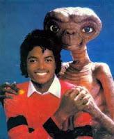 Michael jackson y ET