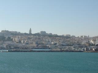 Tanger llegando al puerto
