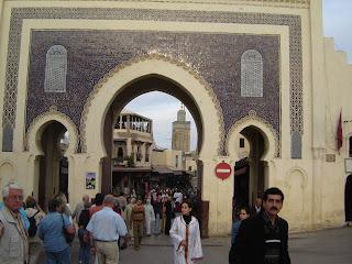 Entrada a la Medina de Fez