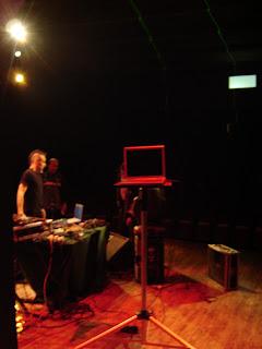 mi ordenador en el escenario