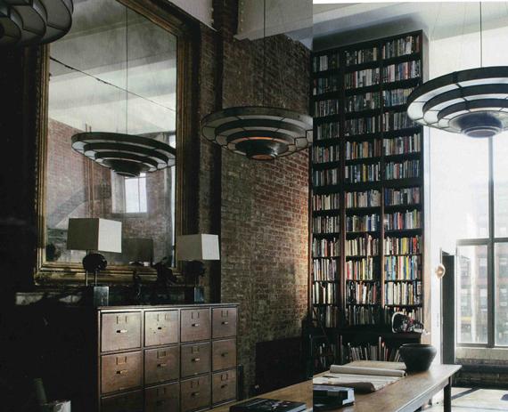 des lofts avec des murs de briques apparentes le blog. Black Bedroom Furniture Sets. Home Design Ideas