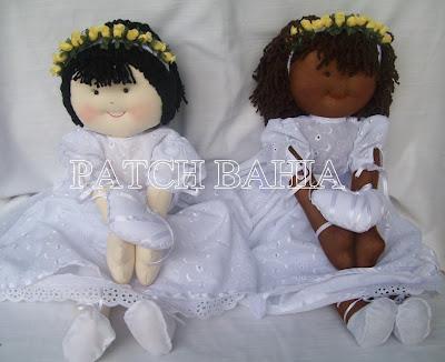 Bonecas Daminhas e Santo Antonio