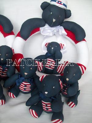 Ursinhos Navy  para o Bernardo
