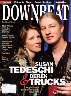 Susan Tedeschi / Tedeschi-Trucks Band Downbeatcover