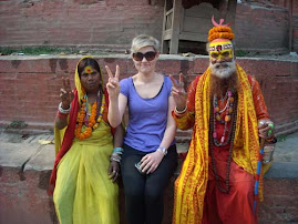 Volunteer with Sadhu