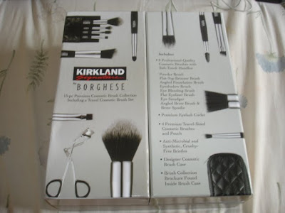 860f5f7f43660 I went to Costco yesterday and I picked me up some brushes. 15-brush set  for 20 bucks? That's a hell of a good deal!