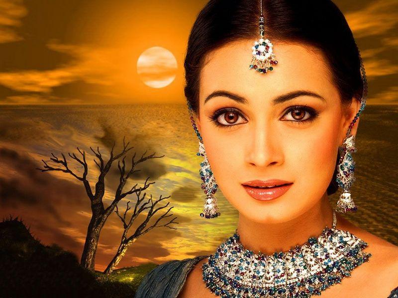 HOLLYWOOD BOLLYWOOD MOVIES WALLPAPERS  Bollywood Actress Diya Mirza ... 547d6da2e