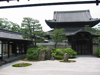 Peaceful Temple Gardens