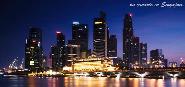 Un canario en Singapur