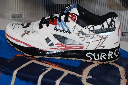 primavera Diez Lustre  Basquiat x Reebok Affili'Art Collection Preview - Winter 2010 Sneaker  Graffiti - converse shoes