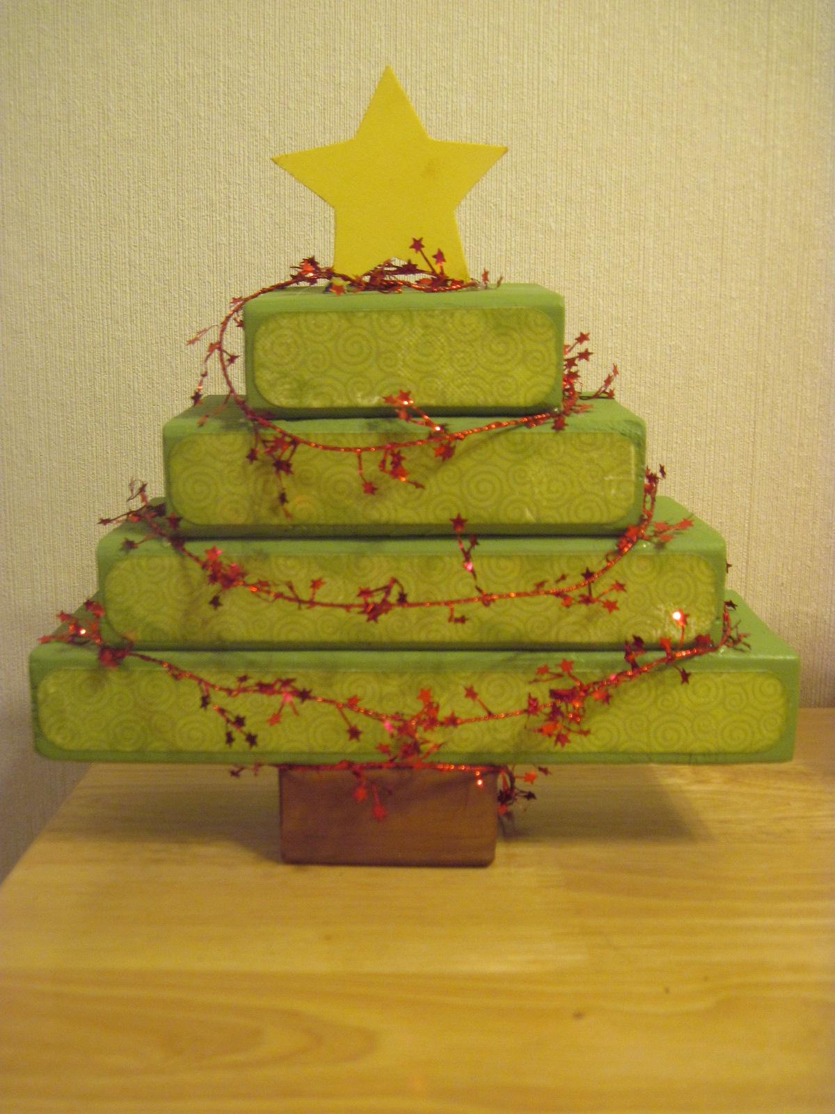 Crafts I Tried 2x4 Pumpkin And Christmas Tree